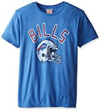 Buffalo Bills Helmet USA NFL Junk Food Vintage Style Football Adult T-Shirt T…