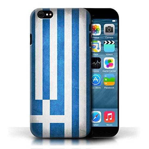 Etui / Coque pour Apple iPhone 6/6S / Grèce/Grec conception / Collection de Drapeau
