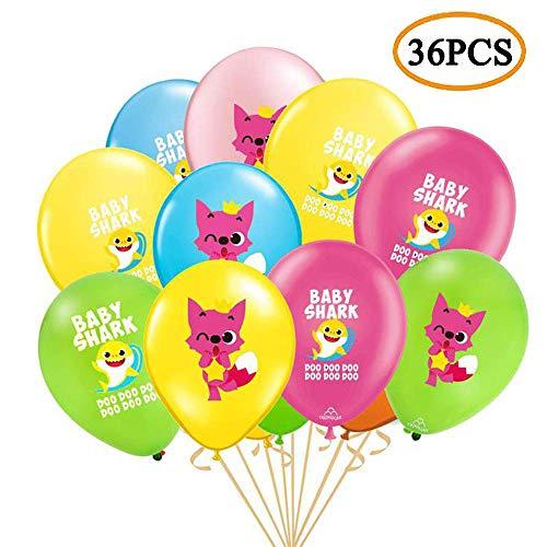 Baby Shark Party Supplies Decorations Balloon - Kids Birthday Shark Theme/Under the Sea/Baby Shower Birthday Party Decorations]()