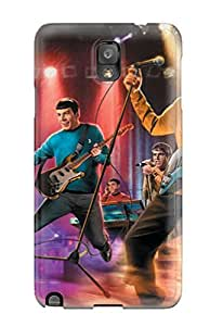 Anti-scratch And Shatterproof The Star Trek Band Phone Case For Galaxy Note 3/ High Quality Tpu Case
