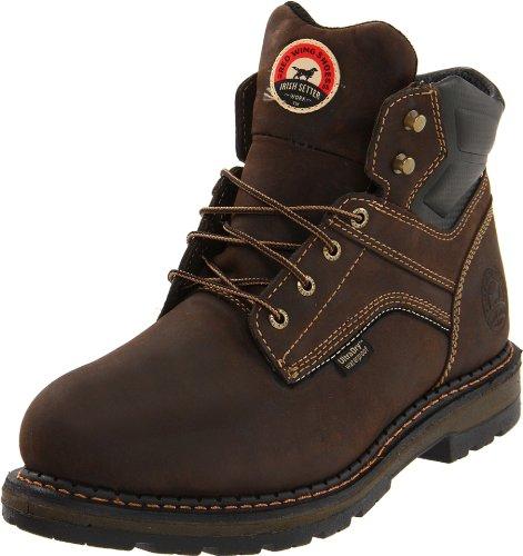 "Irish Setter Men's 83601 6"" Work Boot - Brown - 11 2E US"