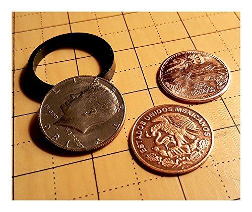 (Scotch & Soda English Penny Coins Magic Tricks Close-Up)