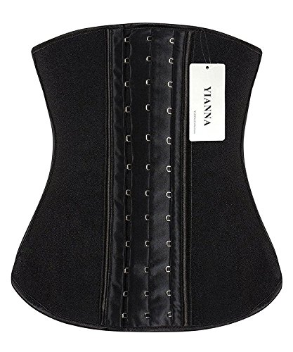 YIANNA Women's Waist Trainer for Weight Loss Waist Training Cincher Body Shaper