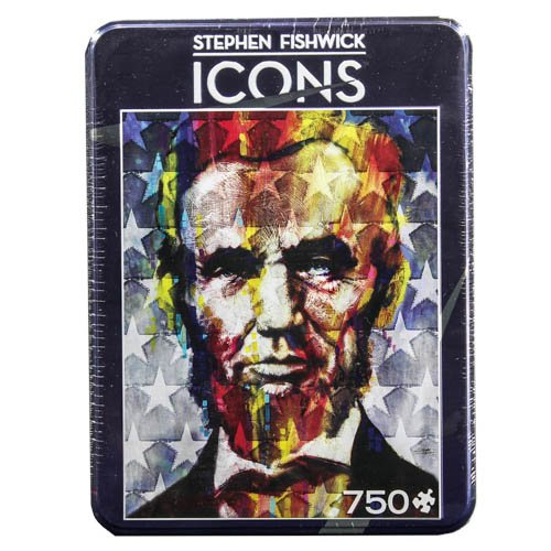 MasterPieces Starry Eyed Freedom - Stephen Fishwick - Abraham Lincoln Puzzles