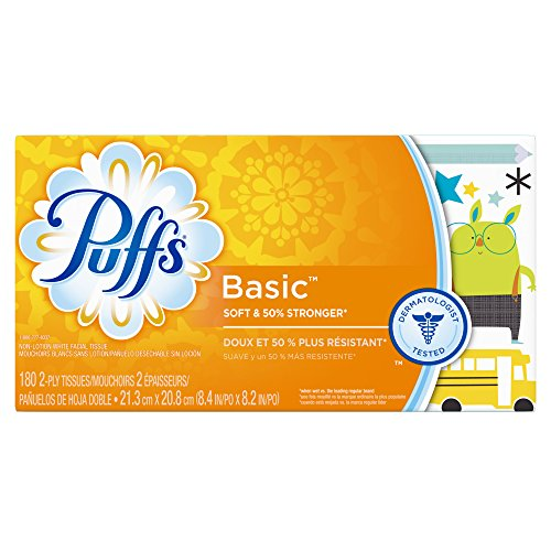 Puffs Basic Facial Tissues Family product image