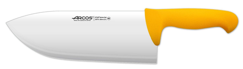Arcos 10-Inch 255 mm 595 gm 2900 Range Cleaver, Yellow