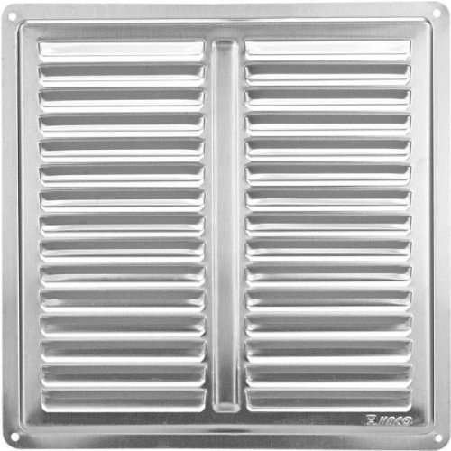 8x8 Acier inoxydable Air Vent Grille Cover 200x200