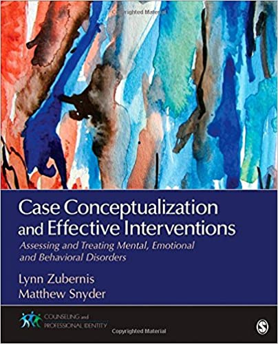 Download online Case Conceptualization and Effective Interventions: Assessing and Treating Mental, Emotional, and Behavioral Disorders (Counseling and Professional Identity) PDF, azw (Kindle), ePub, doc, mobi