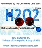 3% Hydrogen Peroxide Food Grade - 8 oz with 1