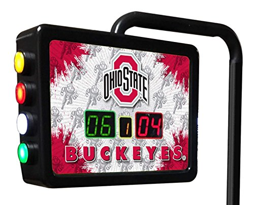Ohio State Electronic Shuffleboard Scoring Unit - Officially Licensed