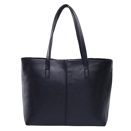 Las mujeres bolsa bolso de cuero Bolsos con bandoleras breve ...