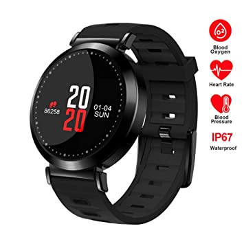 ZLOPV 2019 Reloj Redondo de Moda M10 Presión Arterial ...
