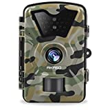 Photo : AKASO Game Trail Camera 1080P HD 12 MP with Infrared Night Vision Hunting Camera IP66 Waterproof 2.4 inch LCD for Wildlife Monitoring