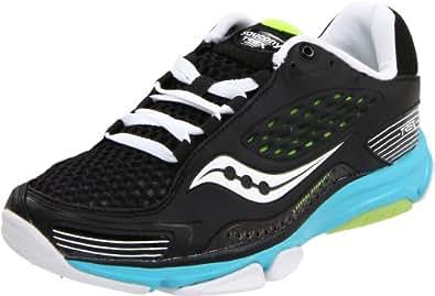 Saucony Women's Progrid Trex Cross Training Sneaker,Black/Blue/Citron,5 M US
