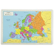 PAINLESS LEARNING PLACEMATS-Europe Map-Placemat