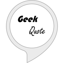 Geek Quote of the Day