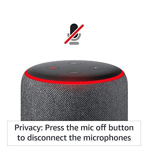 Amazon Echo (3rd Gen, Black) bundle with Echo Flex and Wipro 9W Smart Bulb