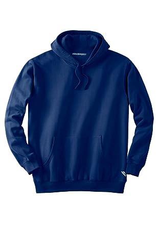 50d441f2d38 KS Sport Men s Big   Tall Wicking Fleece Hoodie at Amazon Men s ...