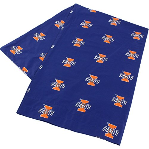 (College Covers Illinois Fighting Illini Pillowcase Only - Body Pillow, 20
