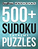 500+ Sudoku Puzzles Book Extreme: Extreme Sudoku Puzzle Book for adults (with a
