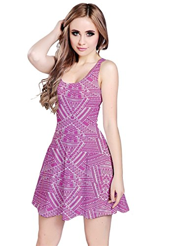 CowCow - Vestido - para mujer Pink Aztec 2
