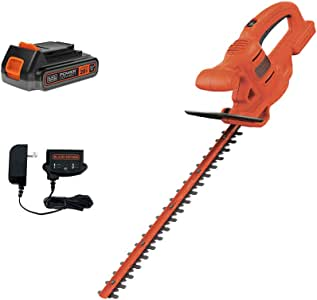 beyond by BLACK+DECKER 20V MAX Hedge Trimmer Kit, 18-Inch (LHT218D1AEV)