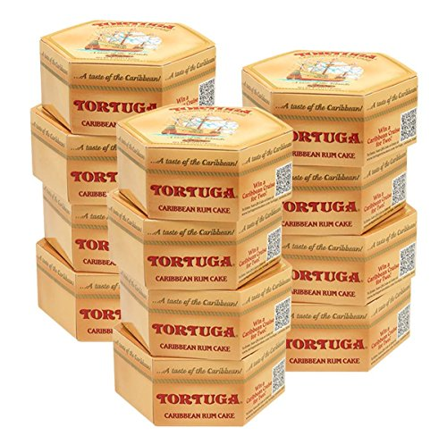 Tortuga Caribbean Rum Cake (Economy Case Pack) 4 Oz Box (Pack of 12) by Tortuga