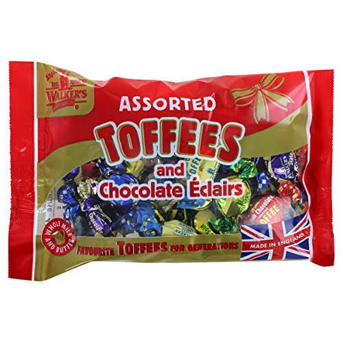 Assorted Royal Toffees (Walkers Assorted Royal Toffees and Eclairs - 14.1oz (399g))