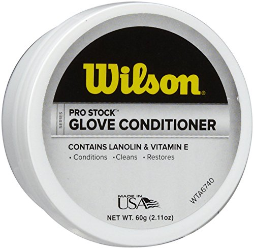 Wilson Pro Stock Glove Conditioner (Best Leather For Baseball Gloves)