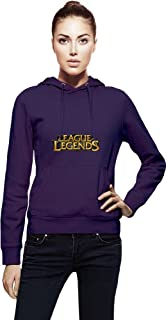 League Of Legends Logo Womens Hoodie