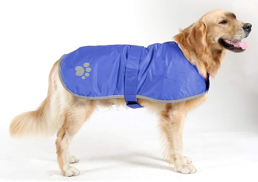 bluee X-Large bluee X-Large Morezi Waterproof Windproof Reversible Dog Vest Winter Coat Warm Dog Apparel Cold Weather Dog Jacket for Small Medium Large Dogs bluee XL