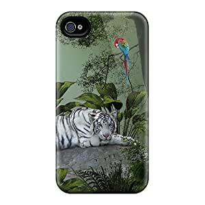 New Snap-on AngelKiss Skin Case Cover Compatible With Iphone 4/4s- Tiger Woods