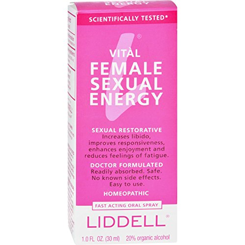 2Pack! Liddell Homeopathic Female Sexual Energy Spray - 1 fl oz