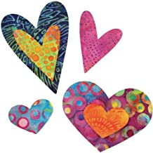 AccuQuilt GO! Fabric Cutting Dies-Queen of Hearts 4 Sizes