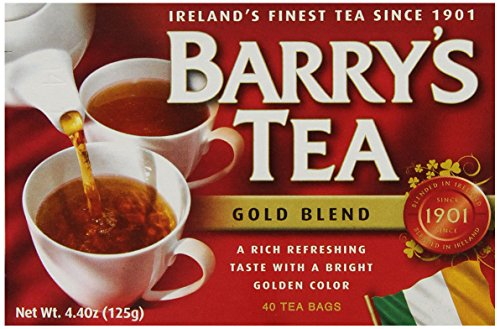 Barry's Tea, Gold Blend, 40 Tea Bags (Pack of (Barrys Gold Blend Tea)