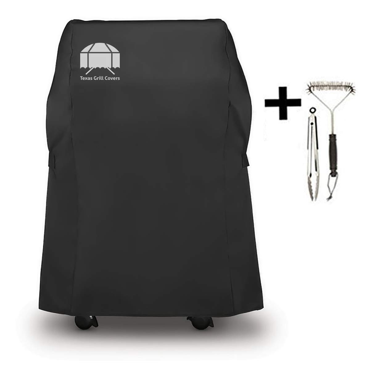 Texas Grill Covers Weber 7105 Grill Cover for Spirit 210 Series Gas Grills Including Brush and Tongs by Texas Grill Covers