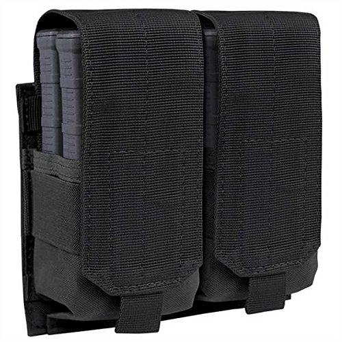 DOUBLE M14 MAG POUCH, BK (M14 Mag Pouches)
