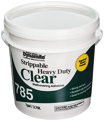 Gardner-Gibson 785 Strippable Heavy-Duty Clear Wall Covering Adhesive