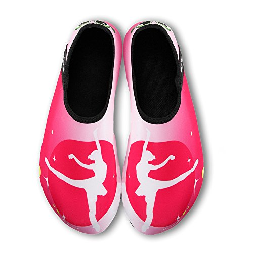 Damen Surfschuhe Strandschuhe Aquaschuhe Herren Schuhe Schwimmschuhe für Rosa06 Wasserschuhe Barfuß Badeschuhe IZ8wpqp
