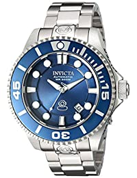 Invicta Men's 'Pro Diver' Stainless Steel Automatic Watch, Silver-Toned (Model: 19799)