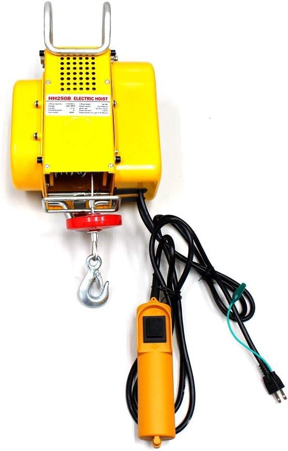 電動ウインチ 家庭用100V対応 50Hz 最大能力250kg