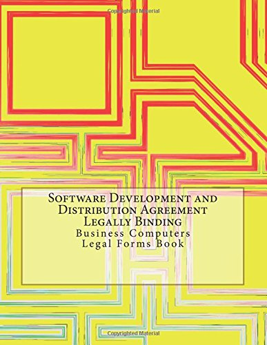 Software Development And Distribution Agreement Legally Binding
