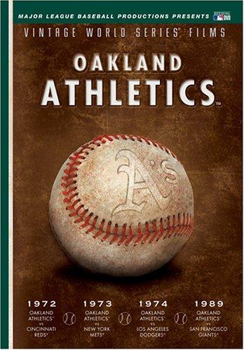 1989 World Series Game - MLB Vintage World Series Films - Oakland A's 1972, 1973, 1974 & 1989