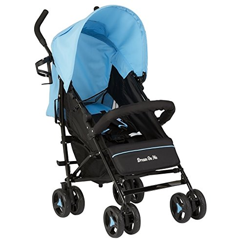 Dream On Me Jasper Lightweight Stroller, Blue by Dream On Me