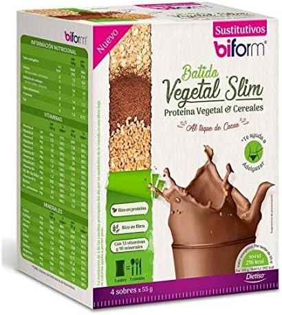 Batido vegetal Slim Cacao, Biform: Amazon.es: Hogar
