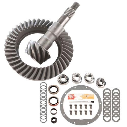 3.73 RING AND PINION & MASTER BEARING INSTALL KIT - COMPATIBLE WITH GM 8.5 10 BOLT