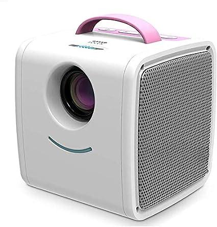 Proyector, proyector de cine Inicio 1000 lúmenes ayuda 1080P de 70 ...