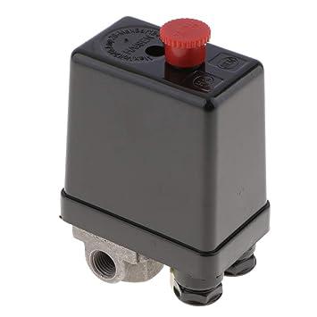 Sharplace Controlador Piezas de Compresor de Aire Neumáticas Centrales 1 Puerto / 3 Puertos - 3 puerto: Amazon.es: Bricolaje y herramientas