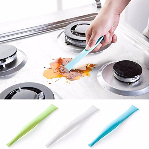 Ayutthaya shop Kitchen Bathroom Stove Dirt Cleaning Tool Decontamination Surface Scraper Opener. (1 Griddle Top Valve)