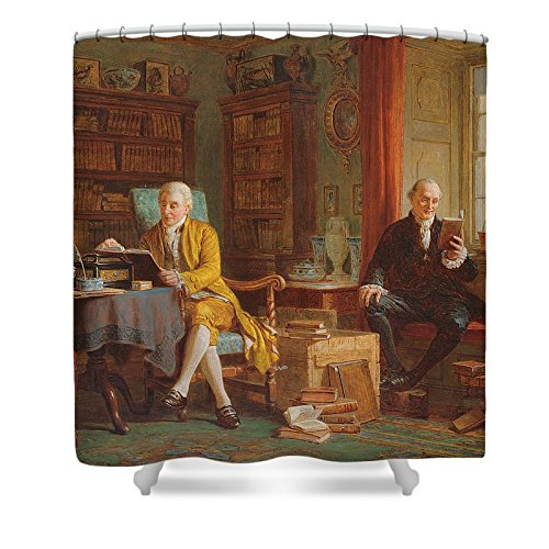 Wise Old Man Costume (Pixels Shower Curtain (74